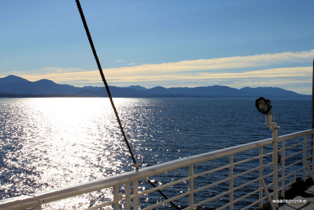 Photo taken from the ferry, Juneau to Prince Rupert