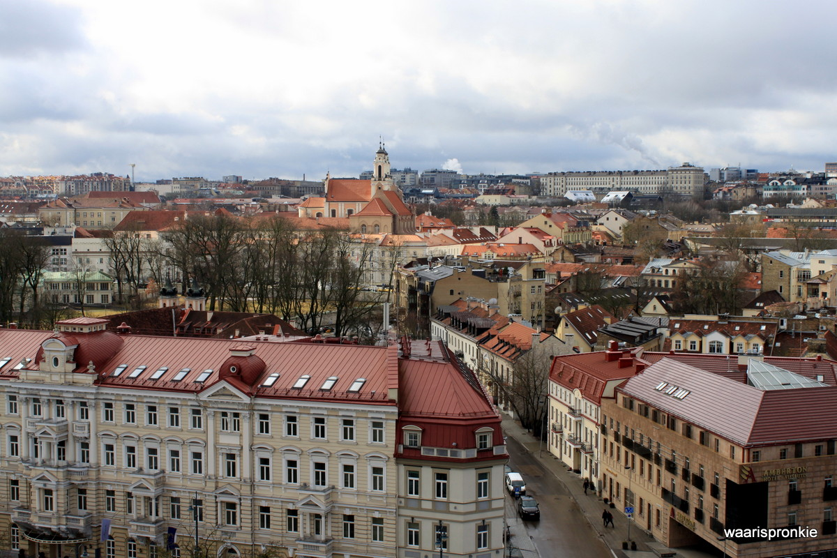 Lithuania, Vilnius, View from Bell Tower