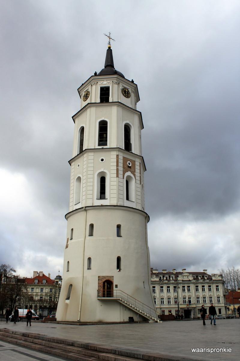 Lithuania, Vilnius, Bell Tower