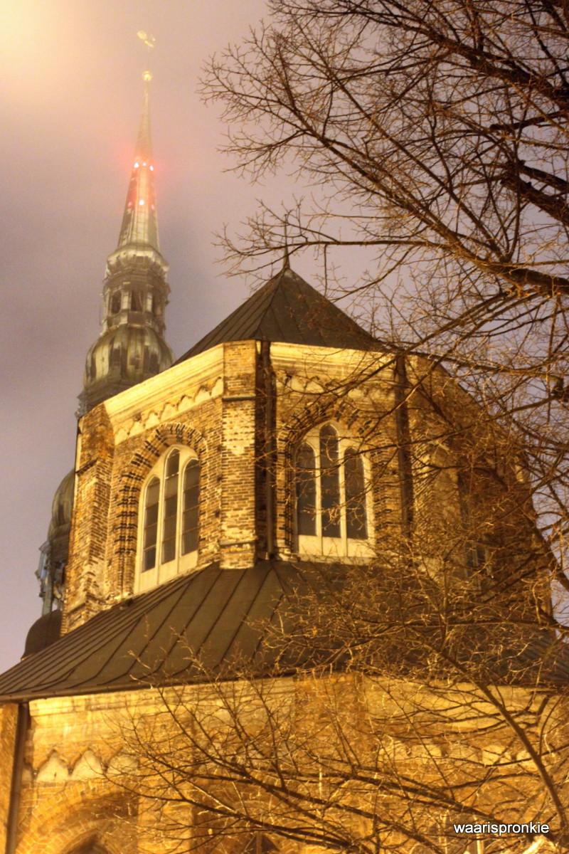 Latvia, Riga, St Peters Church