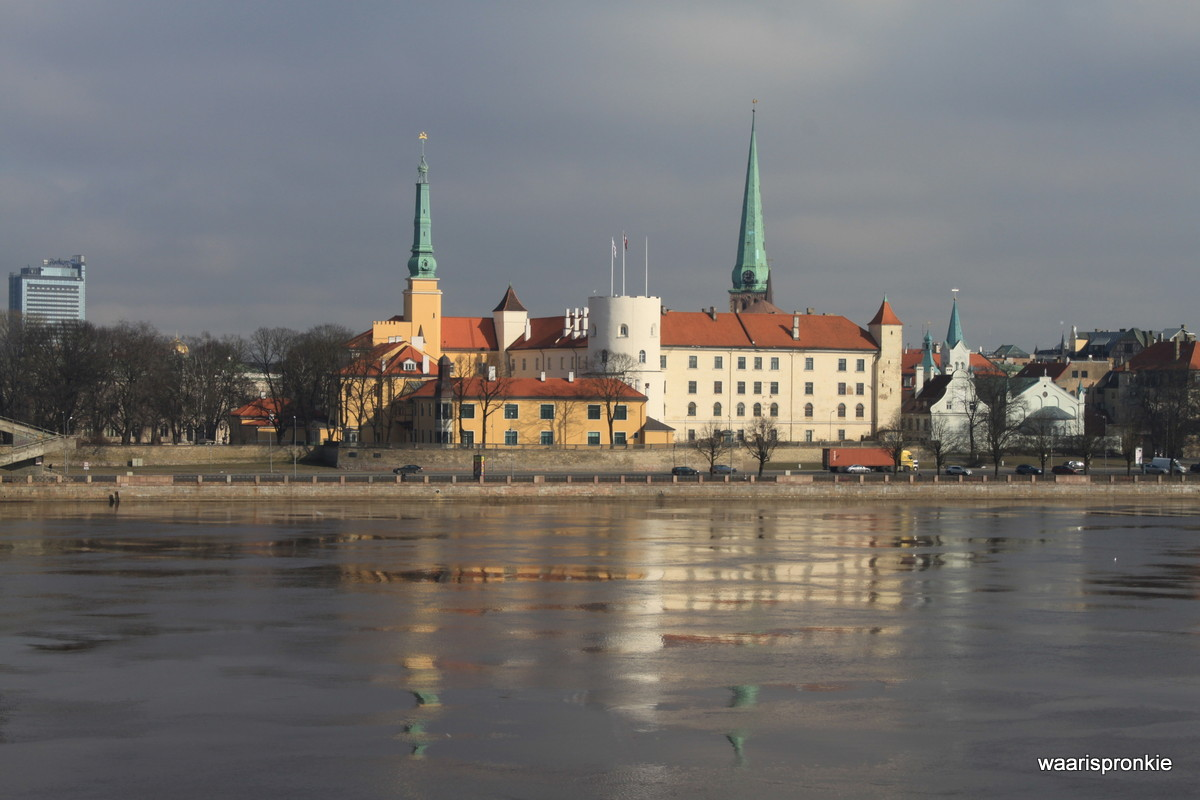 Latvia, Riga, Castle