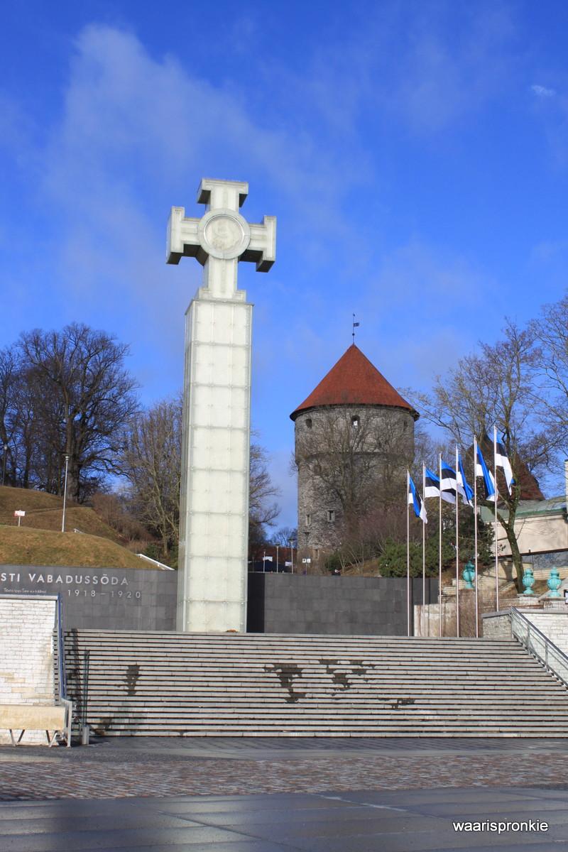 Estonia, Tallinn, War of Indepence Victory Column