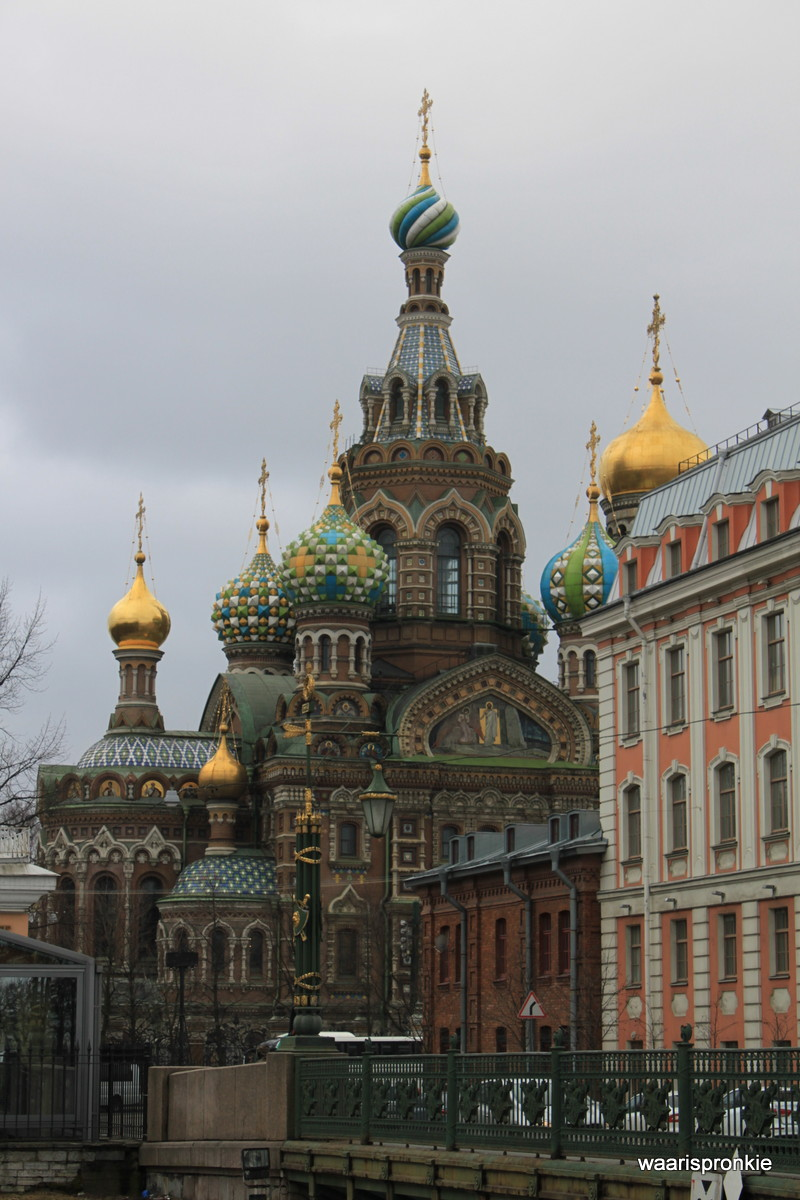 Russia, Saint Petersburg, Church of the Savior on Spilled Blood