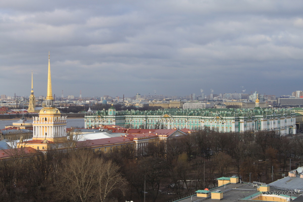 Russia, Saint Petersburg, View from Isaac Cathedral