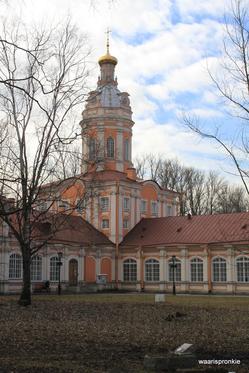 Russia, Saint Petersburg, Church of St Catherine