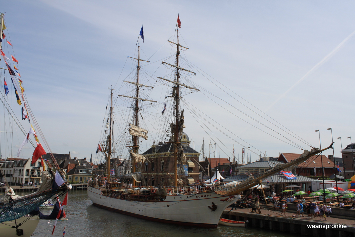 Harlingen, Bark Europa