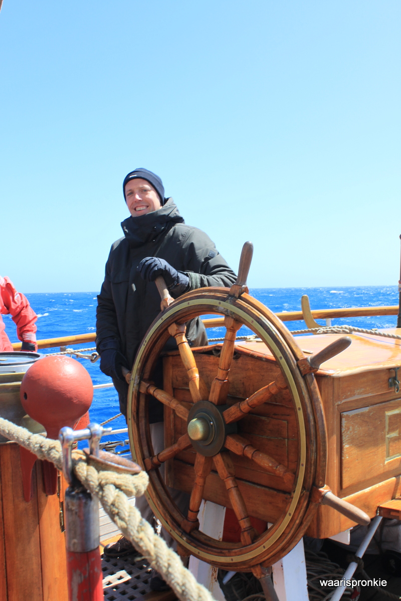 Bark Europa, Another Day at the Helm