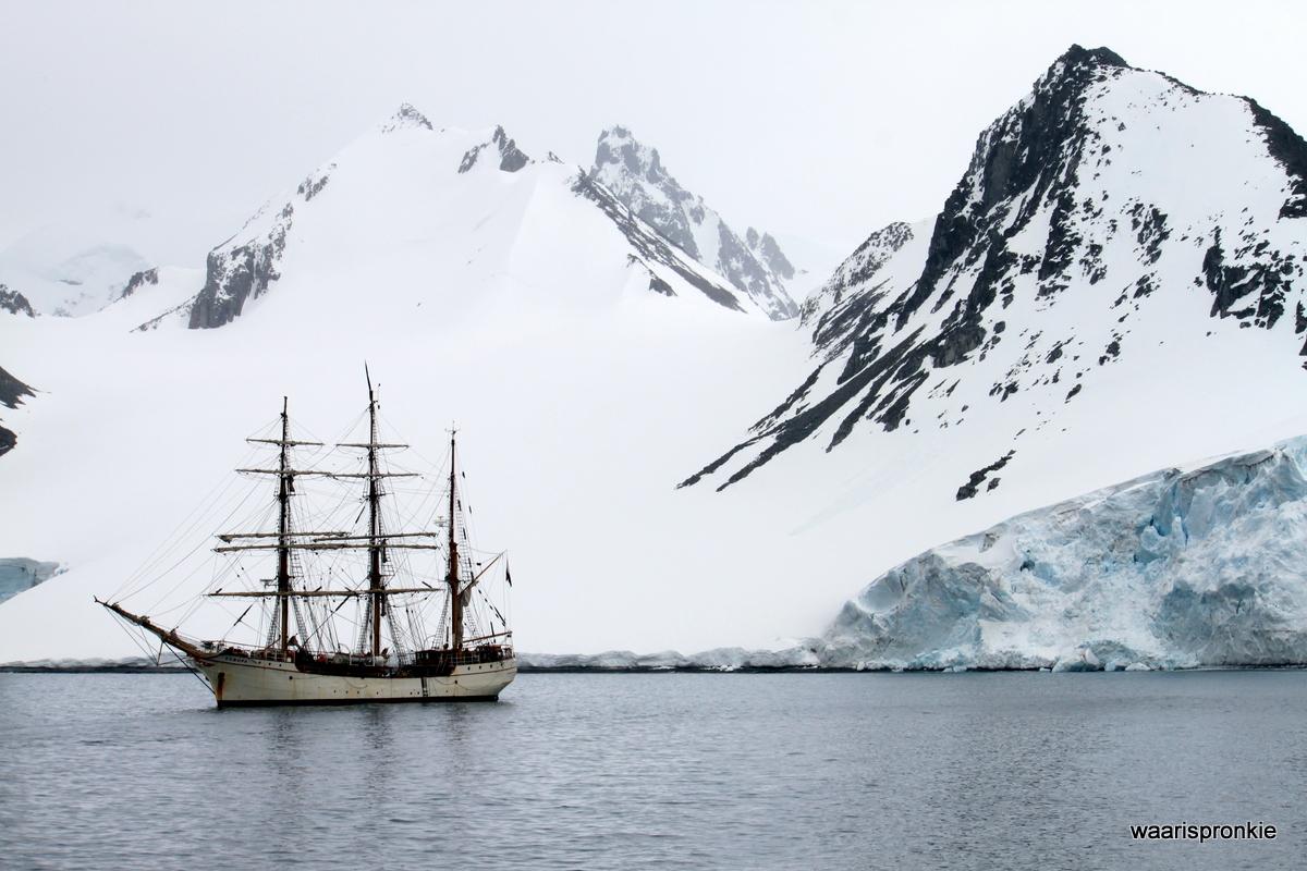 Antarctica, Greenwich Island, Fort Point