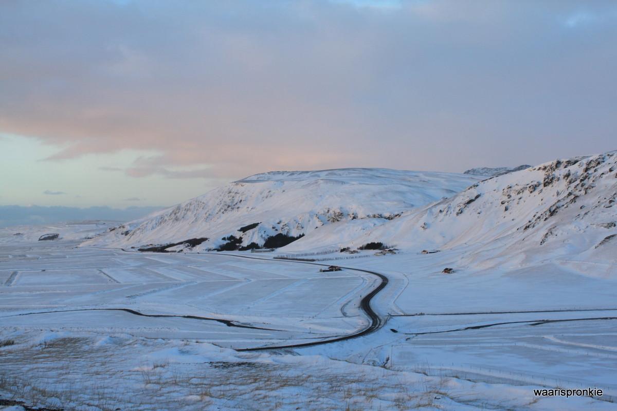 Iceland, Reynishverfisvegur Pass