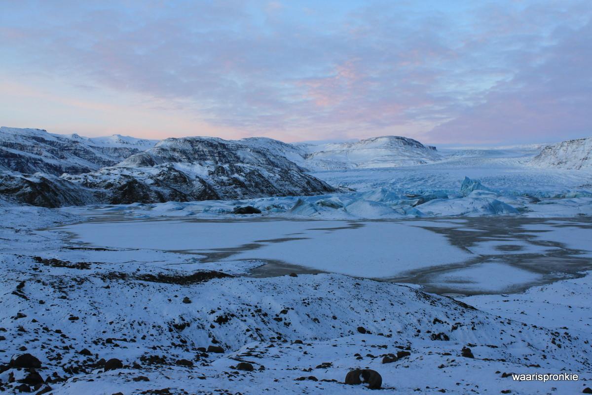 Iceland, Hoffelsjökull - Hoffel Glacier
