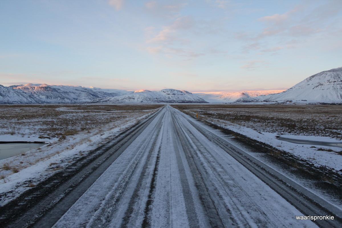 Iceland, near Hoffelsjökull - Hoffel Glacier