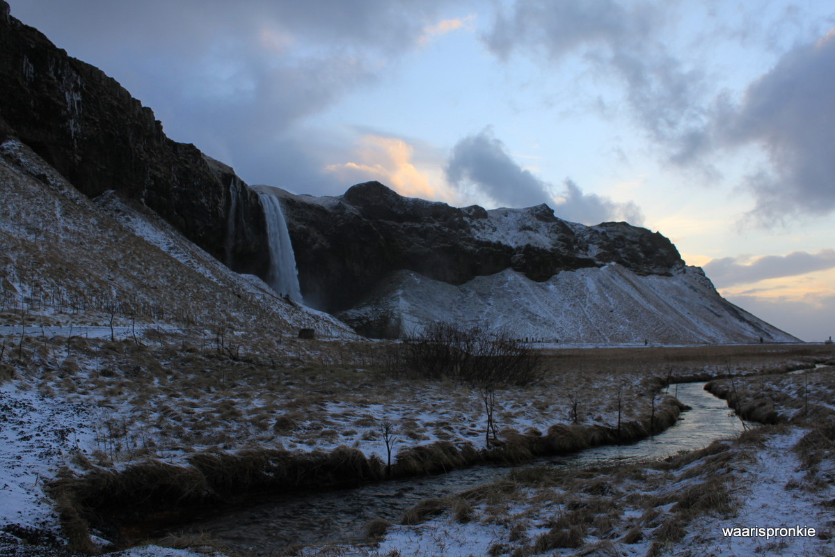 Iceland, Seljalandfoss