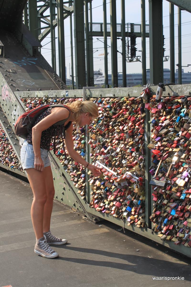 Germany, Köln, Hohenzollernbrücke