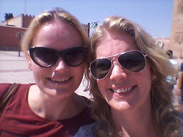 Zusjes in Marrakech