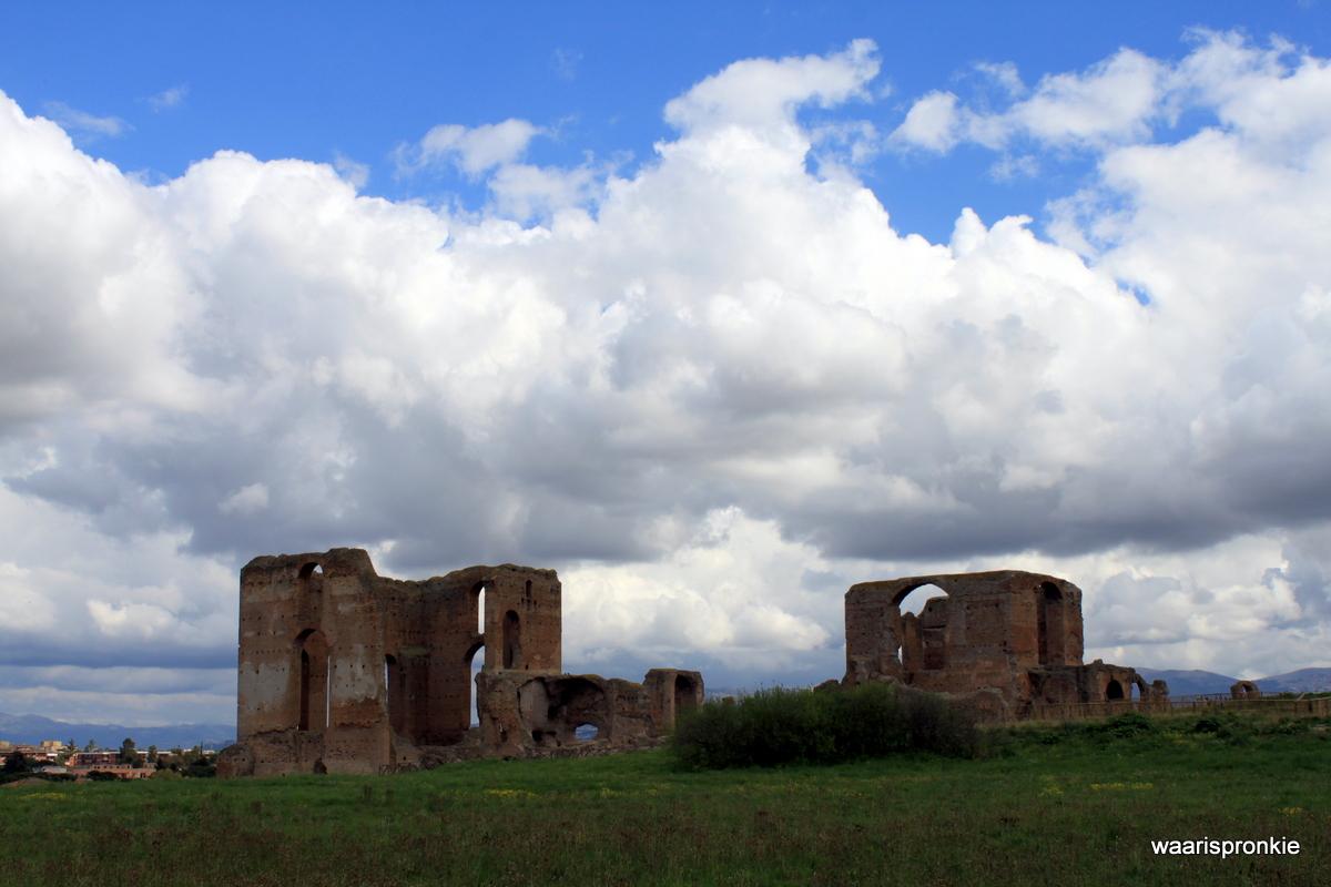 Rome, Via Appia, Villa dei Quintili