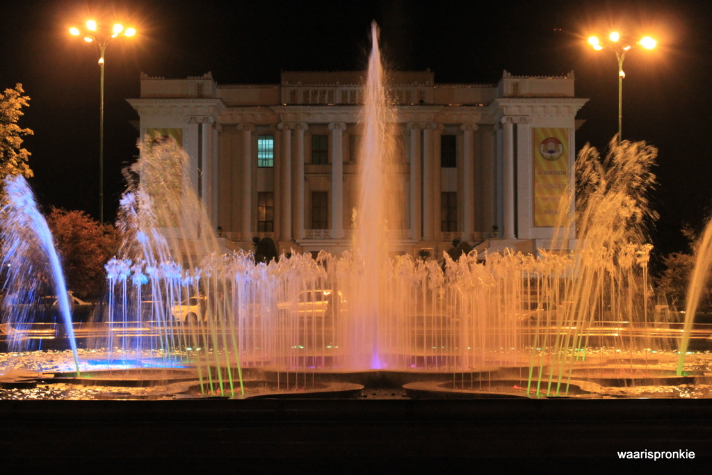 Fountain, Dushanbe
