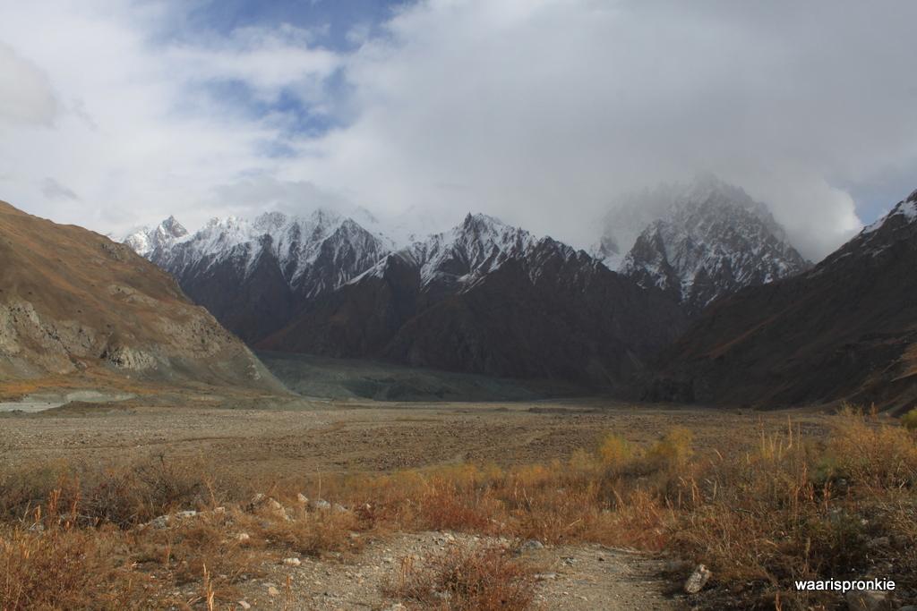 Fedchenko Glacier, Vanj Valley