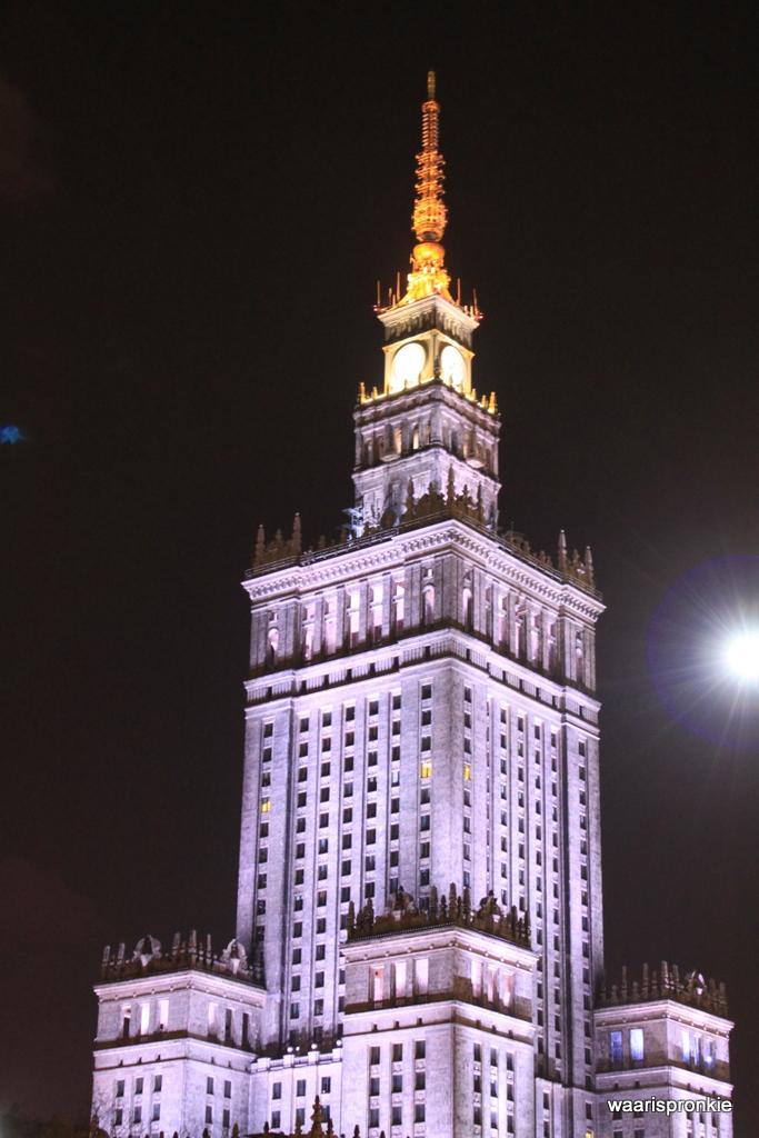 Palace of Culture, Warschau
