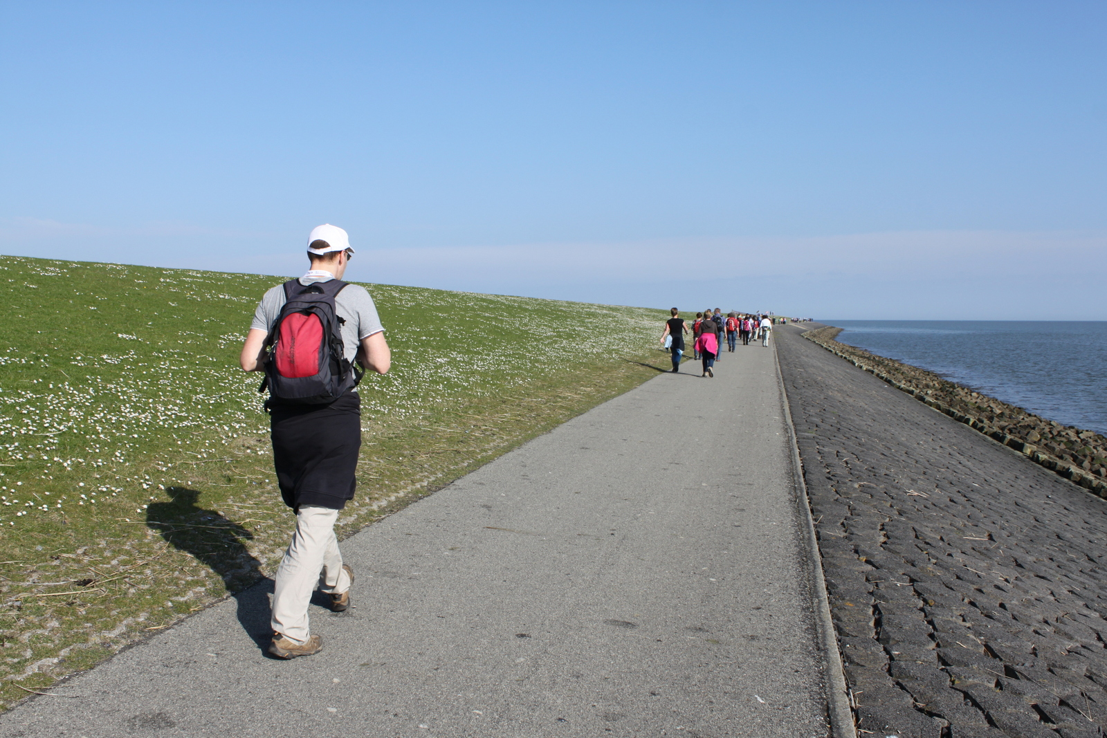 Langs de Waddenzee
