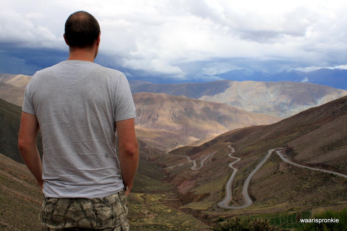 Salinas Grande, 4.170 metres high