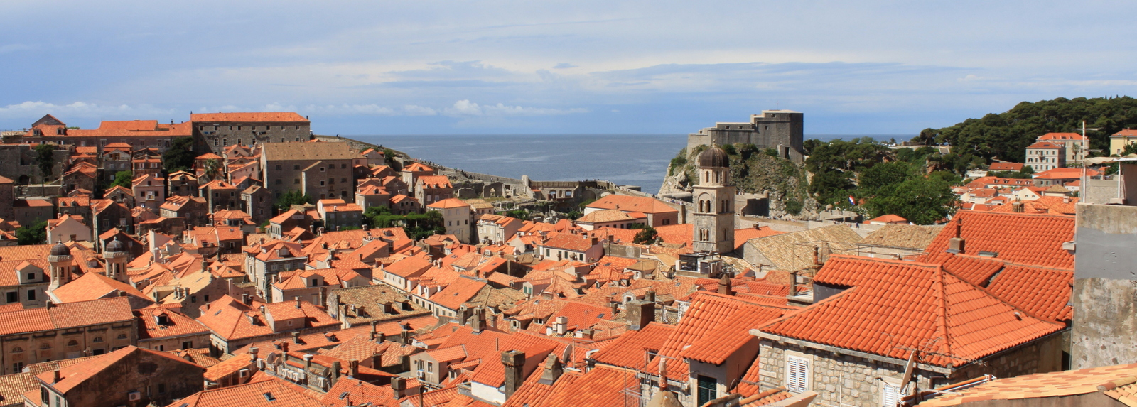 View from City Walls, Dubrovnik