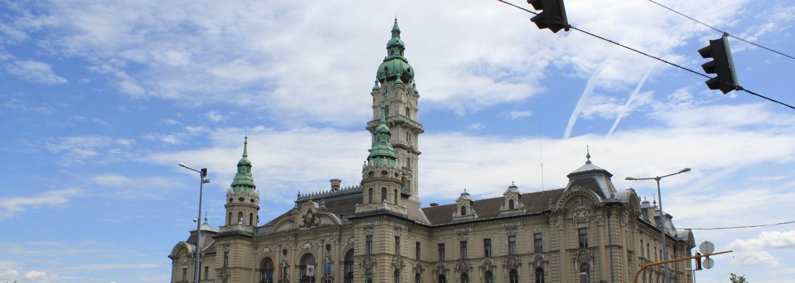 City Hall, Gyor