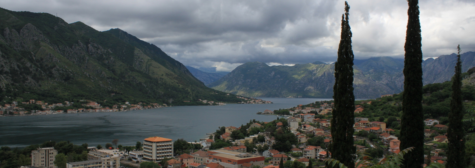 View from Fortress Kotor