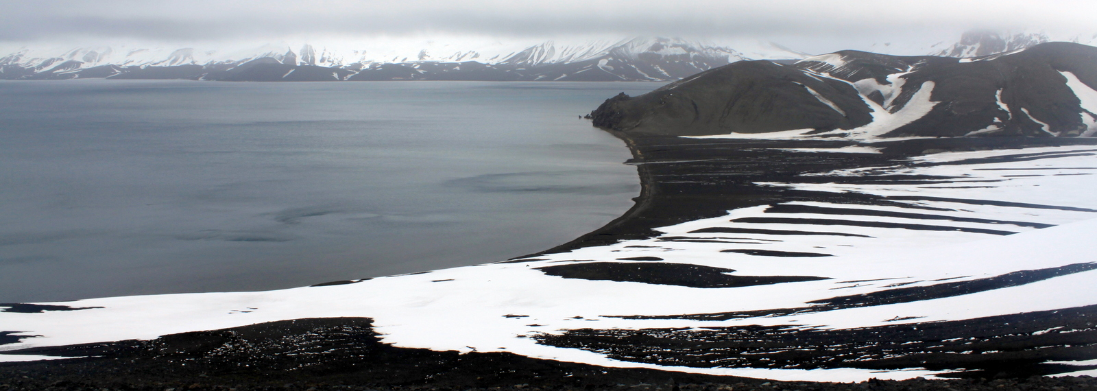 Antarctica, Deception Island, Telephone Bay