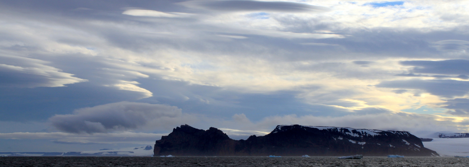 Antarctica, Insane clouds