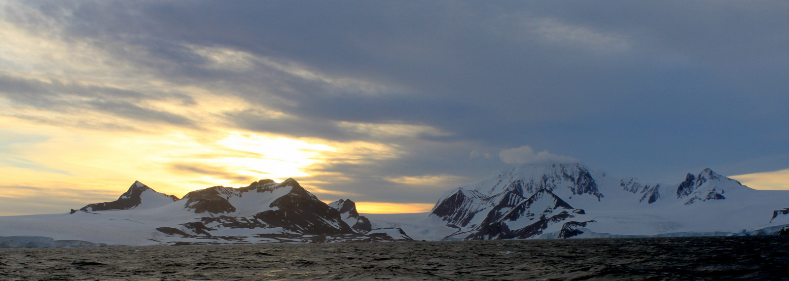 Antarctica, On the way to Browns Bluff