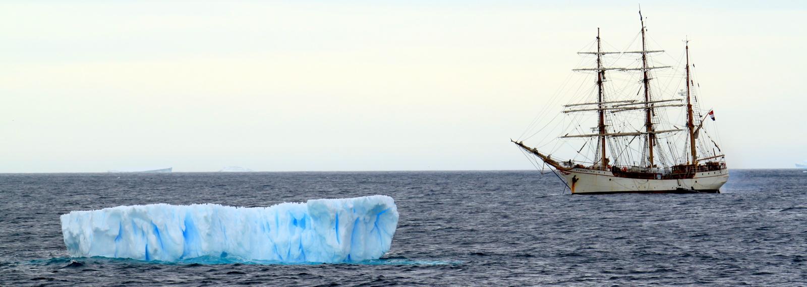 Antarctica, Paulet Island, Iceberg