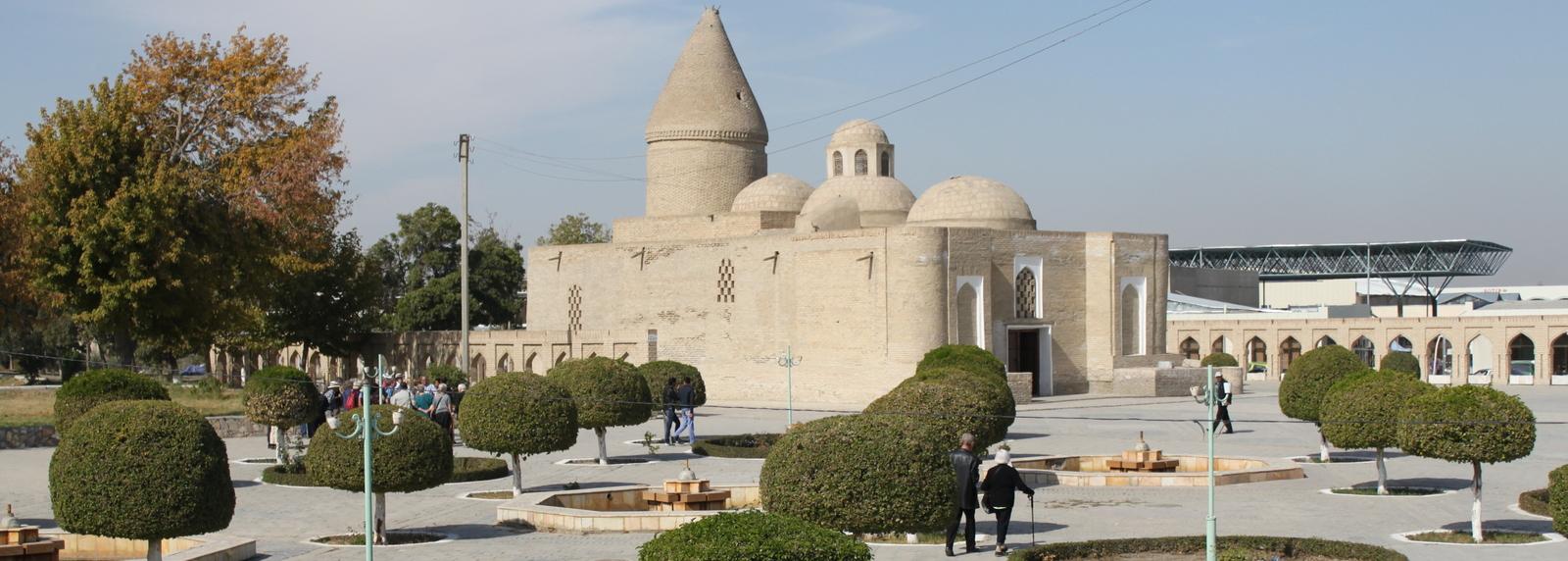 Chashma Ayub Mausoleum Bukhara, Oezbekistan