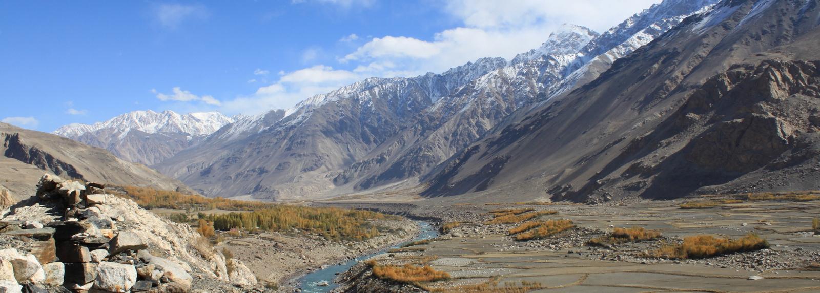 View from Khaakha Fortress, Tadzjikistan