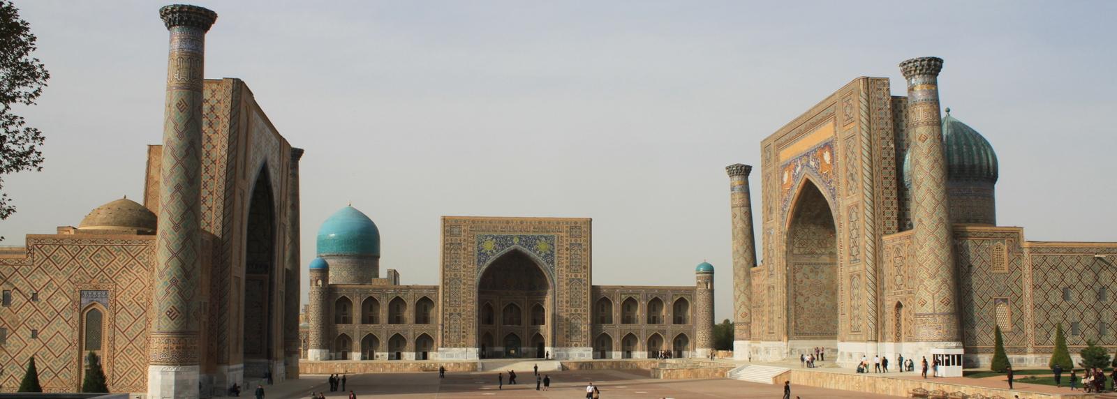 Registan Samarkand, Oezbekistan