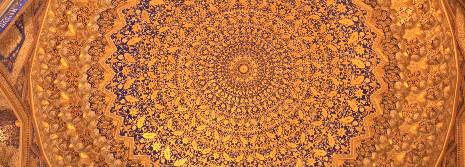 Tilla-Kari Medressa  Registan Samarkand, Oezbekistan