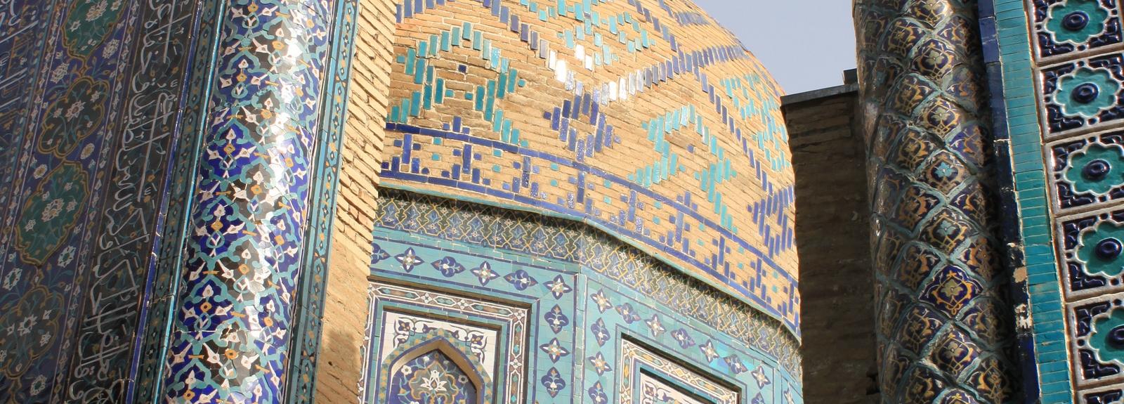 Shah-i-Zinda Samarkand, Oezbekistan