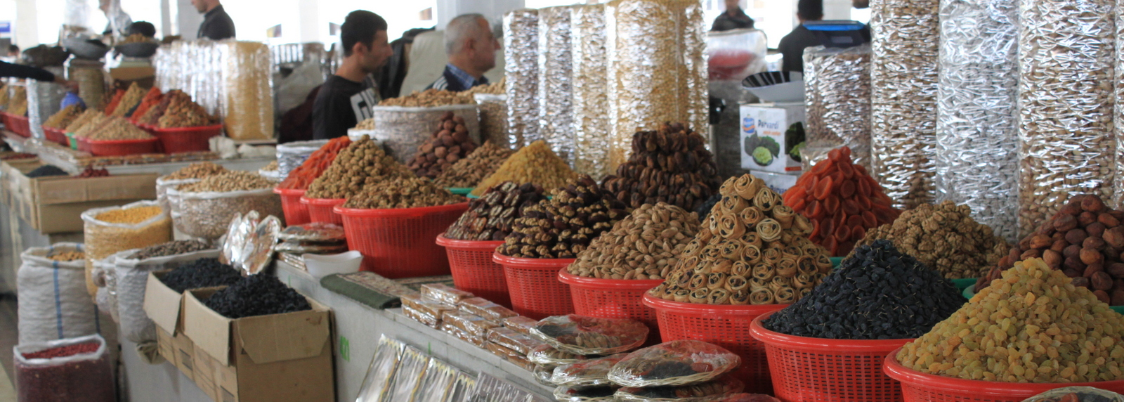 Siob Bazaar Samarkand, Oezbekistan