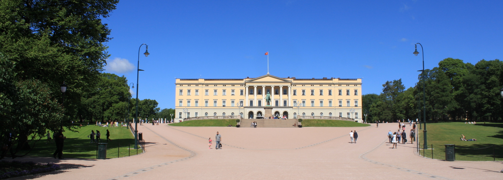 Royal Palace, Oslo, Noorwegen