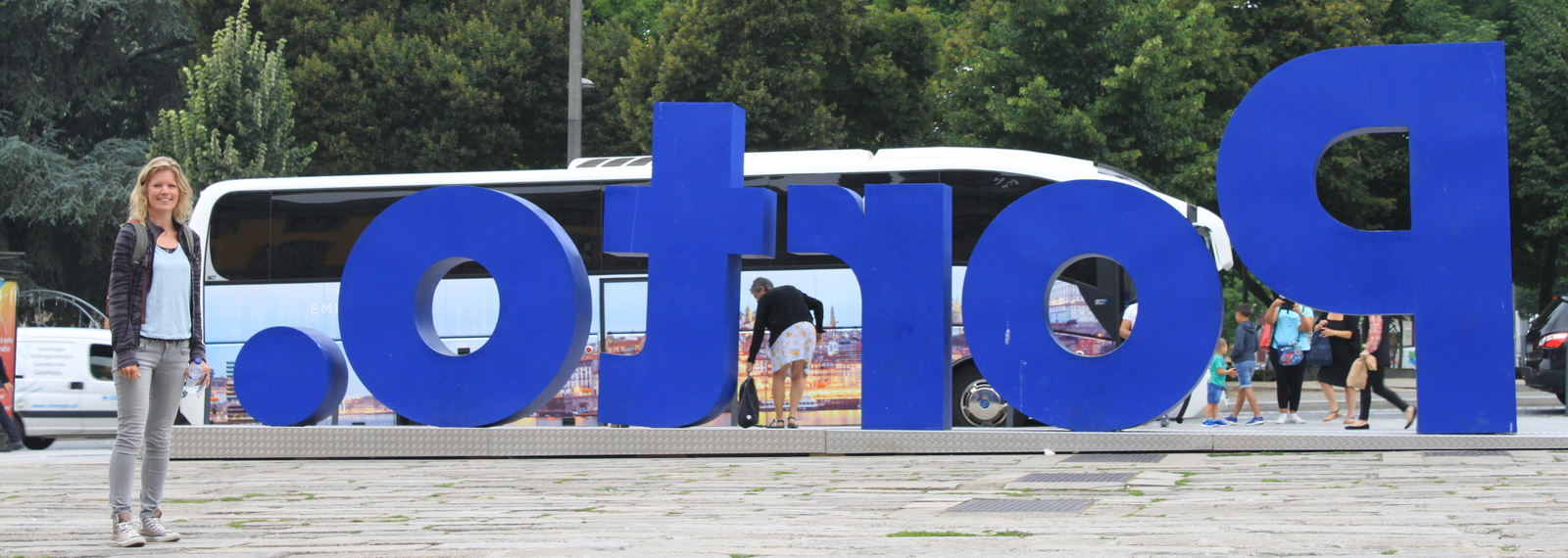 Porto, city sign