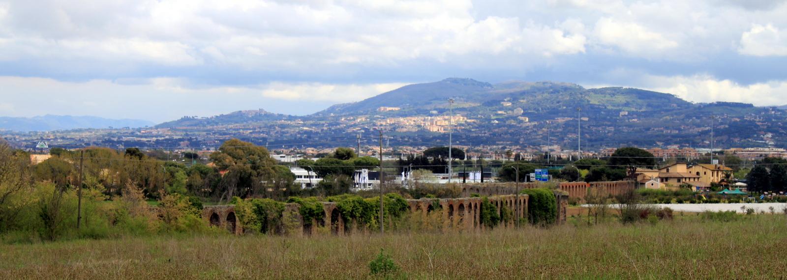 Rome, Aquaduct at Via Appia