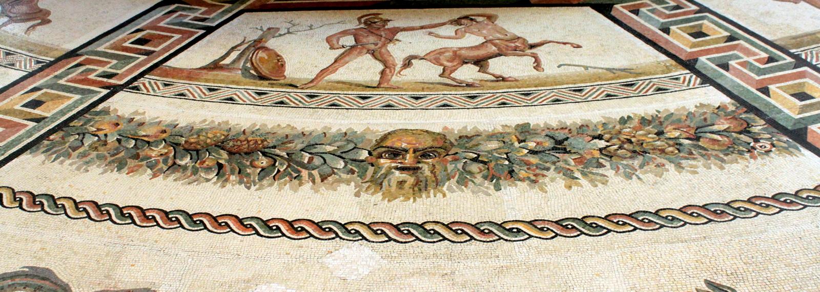 Rome, Sala Rotunda at Vatican Museums