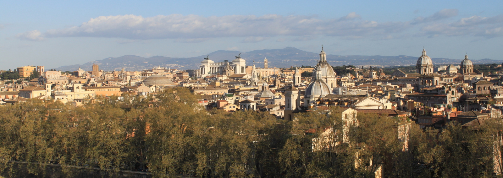 Rome, View from Castel Sant Angelo