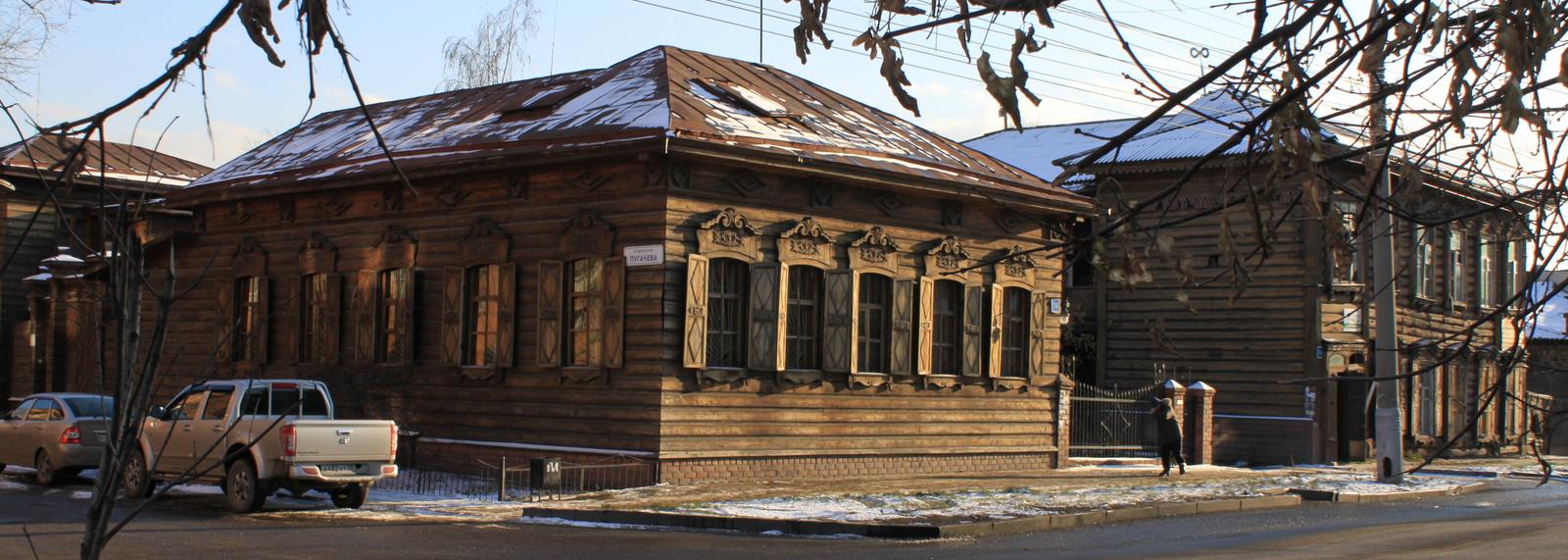 Wooden Houses, Irkutsk