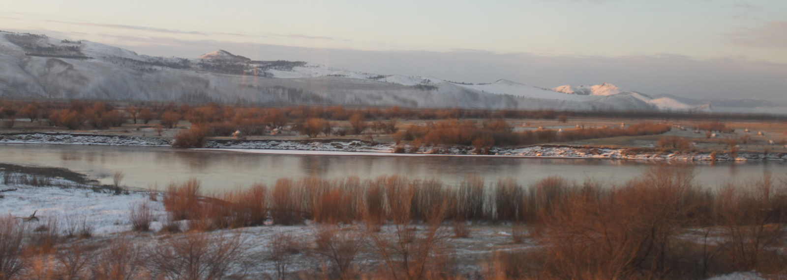 From the train, Syberia
