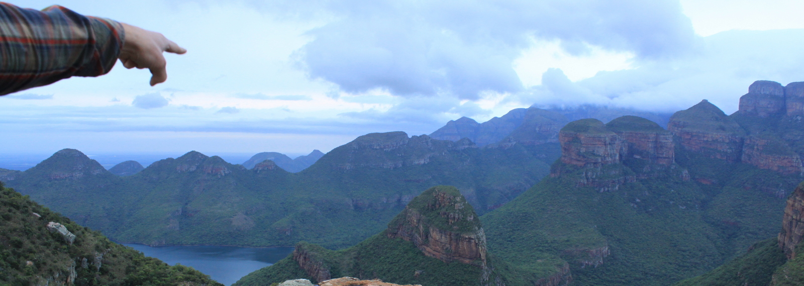 3 rondavels, Panoramaroute, Zuid Afrika